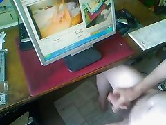 webcam double masturbation - satisfaction for her and him