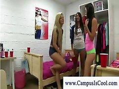 Czech girls participate in a pornstar orgy