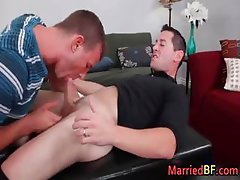 Hunky married straight dude gets part3