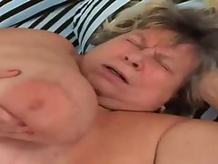 Bbw granny sucking old penis