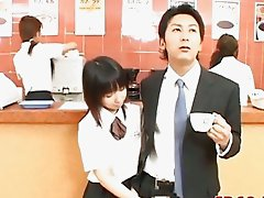 Japanese AV Model cute office girl
