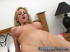Melons mother fingers screws her vag  part6