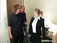 Blonde chubby milf getting fingered part4
