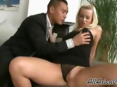 Amwf Cindy Dollar Interracial With Asian Guy asian cumshots asian swallow japanese chinese