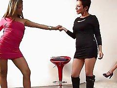 Latinas lesbian orgy