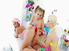 girl4girl hardcore anal toying