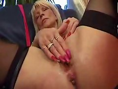 Real French Big Tits Mature knows well how to ride