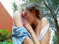 Romantic lesbo adventure from europe