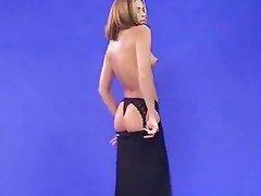 Clara Morgane - Virtual Secretary Striptease