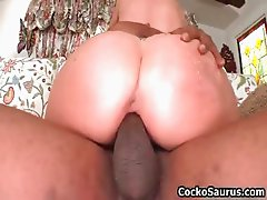 Kaylynn Kage sucking some huge black part3