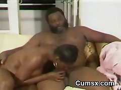 Big Titty Black Hoe Sucking BBC