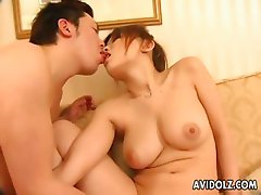 Cum Hungry Yuu Mizuki gets a Hot Wet Facial