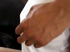 Amateur Tokyo teenager fingering snatch