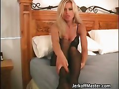 Amazing blonde MILF with great body part5