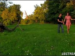 Hardcore meadow fucking