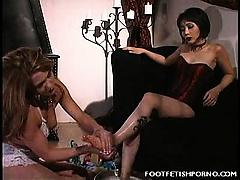 Sexy Feet Foursome