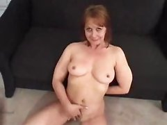 Old Mom sucking for money...F70