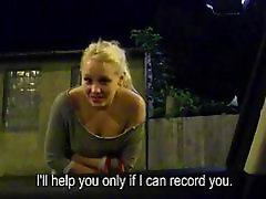 Stranded teen at night Lola Taylor boned