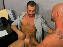 Hot twink Muscle Top Mitch Vaughn Slams Parker Perry