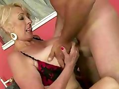 Older guy fucks hot busty granny