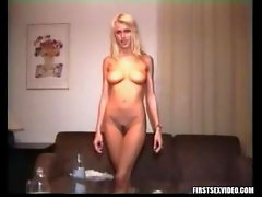 Anita Blonde first sex video!