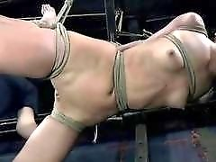 Bondage whore loves to feel the real extreme pain BDSM