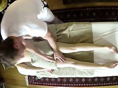 Nasty masseur intercourse his customers