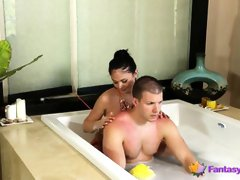 Guy Gets Lucky During a Massage