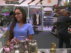 Desperate nurse sells old teapot for cash