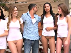 twerking college partygirls gets pussyfucked