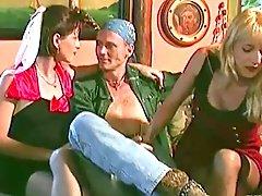 Laura Palmer and Liza Harper Share a Cock...