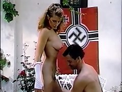 Big-Breasted Lady Gives Up Her Pussy To Nazi Officer