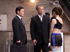 Cheerful maid Saki Kouzai fucked so rude