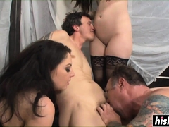 Naughty friends like to fuck together