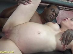 Cheating pregnant wife could really suck on that hard cock and then to get it between her legs by her lover