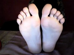 Adorablefeet milf footfetish display p8 that is 16min