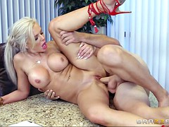 nina elle in high heels fucking his insubordinate brains out