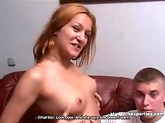 Student Threesome Escaped from Everybody to Have Hard Fuck