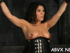 Tight vagina bizarre servitude in home xxx video