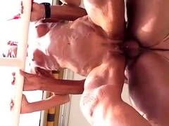 Slutty amateur granny gets pounded deep and hard from behind