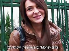 Lovely Alexis Brill gets laid for cash