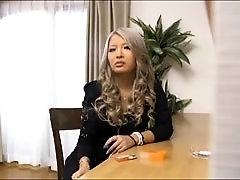 Sweet Oriental babe with small tits gets massaged and fucked
