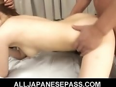 Sexy Asian MILF gets a huge and messy facial