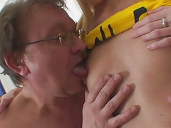 old man young girl - Find my dick girl if you can