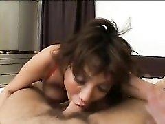 Ava Devine rims ass and sucks cock
