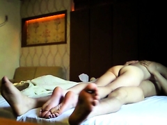 Cheating Korean babe gets her snatch eaten out and drilled