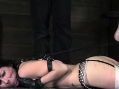 Hogtied bdsm submissive soles tickled