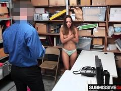 Filching Latina Sweety Esperanza Gets Slammed