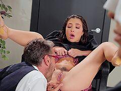 Classy pretty girl Jane Wilde's secret kink is anal fucking