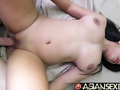 Japanese Bang-Out Diary - Milky pecker pummels Chinese honey with exclusive melons